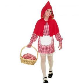Sælger dette super søde Rødhætte kostume til fastelavn, men kan også tegnes blod på osv (kun fantasien sætter grænser) så det bliver til et halloween kostume🧛🏼♀️ Der er elastik i kjolen (i livet). Brugt 2 gange til fastelavn da jeg var 10 og 11, derfor rigtig god stand👍🏼  OBS: KUN KJOLE, FORKLÆDE OG KAPPE HØRER MED!  Størrelse 10-11 år men passes afgjort også af 9 år. Byd endelig sælges billigt☺️