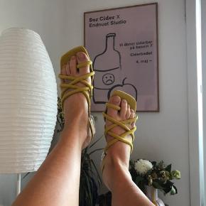 Fineste sandaler med lille hæl🌼