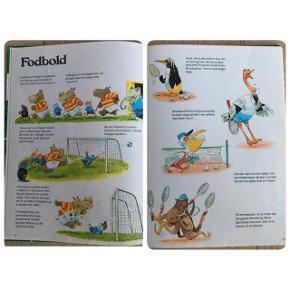 Sælger denne børnebog: Spøjse Sportsfolk skrevet af Vagn Simonsen og illustreret af Anthony Lupatelli. En bog med sjove historier om forskellige sportsgrene. En bog fra 70'erne. Kommer fra et ikke ryger hjem. Kan afhentes i 2990 Nivå eller sendes mod betaling