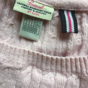 Casual bluse/trøje str 48 nedsat svag rosa