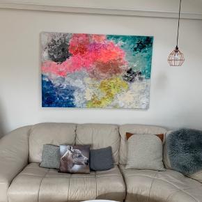 Originalt abstrakt maleri. 150 x 100 cm. Se evt. andre malerier på www.tanjajohansen.dk