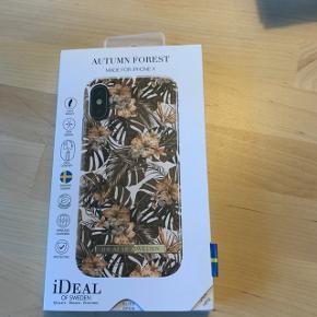 Lækkert cover til iPhone X og Xs fra Ideal of Sweden. Motivet er efterårsagtigt og super flot. Helt ubrugt, har ikke været ude af æsken.