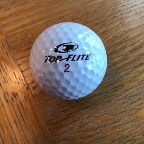Spritnye golfbolde, 15 stk pr. æske. Logo: Godthåb Bryghus. Jeg har i alt 5 æsker. Samlet pris for alle 5 æsker er 400,-