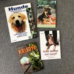 Dyre-/hundebøger sælges for 25kr. pr. stk.  Brugte, men stadig i rigtig flot stand