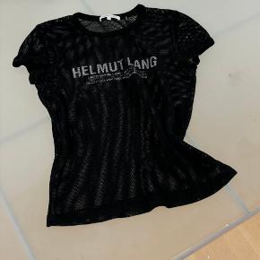 sælger min mega fede helmut lang net-trøje ved rette bud🖤den en smule lille i størrelsen  Skriv for flere billeder    Køber betaler fragt