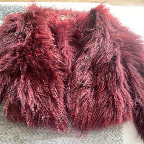 Meotine pels- & skindjakke