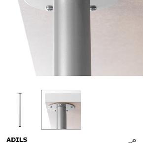 4 stk Adils bordben fra Ikea sælges samlet  Afhentes i Tilst