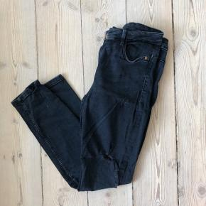 Zara ripped skinny jeans in excellent condition. Extremely comfortable and easy to wear. Check out my other listings for a bundle discount!