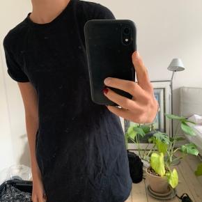 Meget kort tshirt-kjole