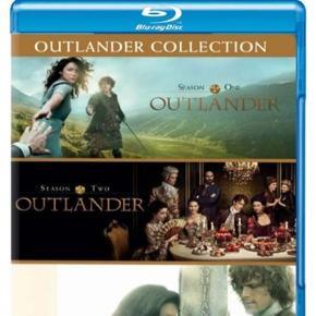 Aldrig brugt. Sæson 1-3 af outlander Blu-ray