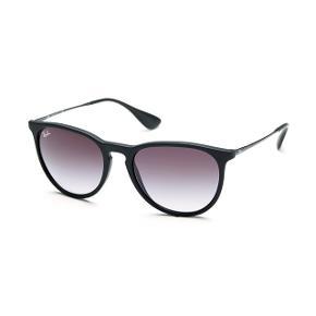 Sorte mat rayban solbriller, købt for 1950,-   Original etui mm følger med