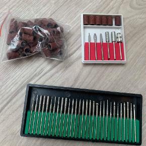 Helt ny uåbnet elektrisk neglefil med 36 bits, 100 sanding bits of 30000RPM