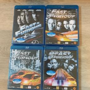 Fast & Furious film Stadig i indpakning Blu-ray