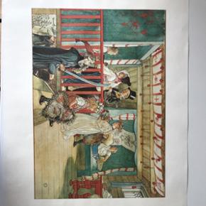 Reproduktioner af Carl Larsson (1891)   250 kr pr stk.  Dem alle 3 for 600,-