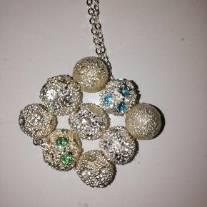10 sølv kugler til smykker 10 kr ialt