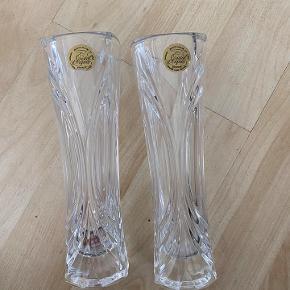 cristal d'arques vaser Sælges samlet for 150,-