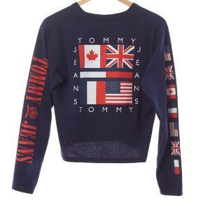 Tommy Jeans langærmet t-shirt Str M Stand: som ny 199 kr.