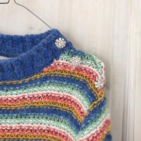 Super fin strik i de fineste farver, som jeg desværre ikke får brugt. 🌈 Jeg bruger normalt størrelse small.💕
