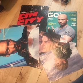 Dvs plakater og et træningsblad. Kan afhentes gratis i Herlev