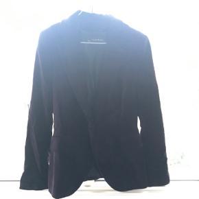 Fin velour blazer