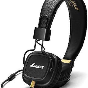 Sælger disse Marshall høretelefoner, da jeg desværre ikke får dem brugt. De er ikke trådløse
