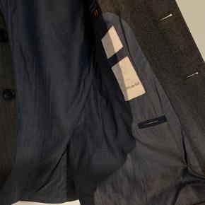 Str. 48  Casual blazer i 100% uld