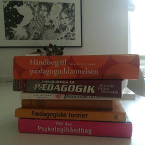 Studiebøger til Pædagogstudiet - Byd gerne, har ingen fast pris - kan sælges separat