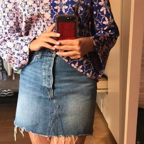 Denim nederdel fra H&M