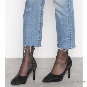 Nly shoes net pump pumps i sort glimmer. Brugt én gang