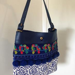 Tory Burch Beaded Parrot Tote Brugt 2 gange  Nypris: 6700