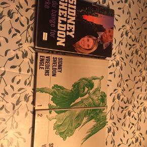 50kr for alle 3 bøger 20kr pr stk.