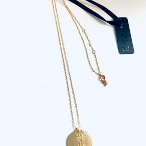 Splinterny halskæde med mærke fra Pure Sterling guld Købt for 400,-