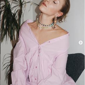 Pieces kjole i lyserød str S i bomuld. Stadig med tag.
