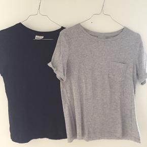 2 stk. t-shirt fra Noisy May. 25 kr. pr. stk. begge for 40kr Brugt meget få gange.  De er medium, men jeg vil sige de svarer til small.