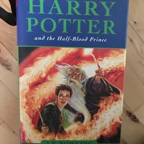3 Harry Potter bøger på engelsk