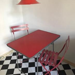 Smukt retro fransk klapbord sælges
