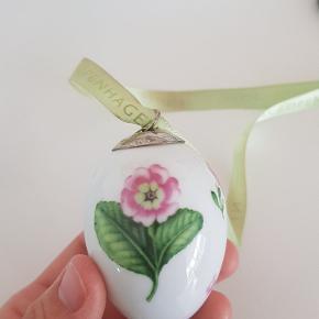 Royal Copenhagen æg Primula fra 2010.  Udgået