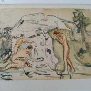 Kunstbog. Edward Munch som tegner