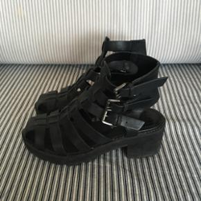 Leather sandals  Size 38  Worn maybe 3 times