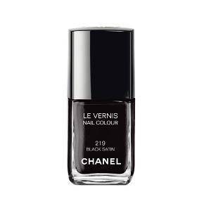 Chanel Black Satin   Man kan se på sidste billede, hvor lidt der er brugt.