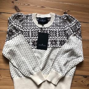 Der står str. XL men trøjen passer en str. M