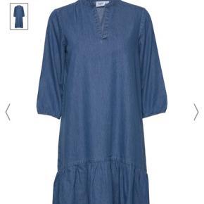 Flot denim kjole aldrig brugt