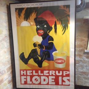 Lækker genoptryk af populær reklame plakat fra 1931.  Sælges uden ramme.   Måler 85x60cm.    Kan afhentes i Aalborg ellers sendes med DAO i paprør for 39kr