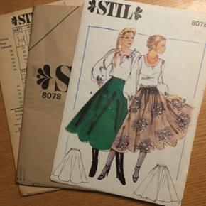 Vintage stil symønstre str 38. Kan sendes for 18kr med postnord.
