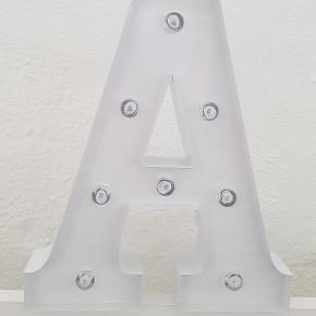 Stor bordlampe
