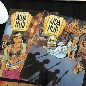 Aida nur tegneserier -fast pris -køb 4 annoncer og den billigste er gratis - kan afhentes på Mimersgade. 2200 - sender gerne hvis du betaler Porto - mødes ikke andre steder - bytter ikke