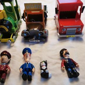 Postmand Per. Retro - figurer og biler i den store udgave. De er selvfølgelig brugt, me. Med meget få brugsspor - rigtig god stand.