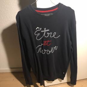 Mørkeblå sweatshirt - brugt 2 gange