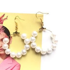 Pearl hoops!