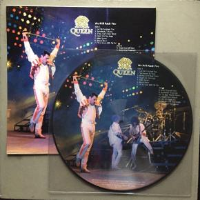 Der er her tale om en picture disc. Picture disc vil sige, at pladen ikke er sort, men har et billede på hele for- og bagsiden.  Trackliste: 1. Let Me Entertain You 2. Somebody To Love 3. If You Can't Beat Them 4. Death On Two Legs 5. Killer Queen 6. Bicycle Race 7. I'm In Love With My Car  1. Keep Yourself Alive 2. Bohemian Rhapsody 3. Tie Your Mother Down 4. Sheer Heart Attack 5. We Will Rock You 6. We Are The Champions 7. God Save The Queen